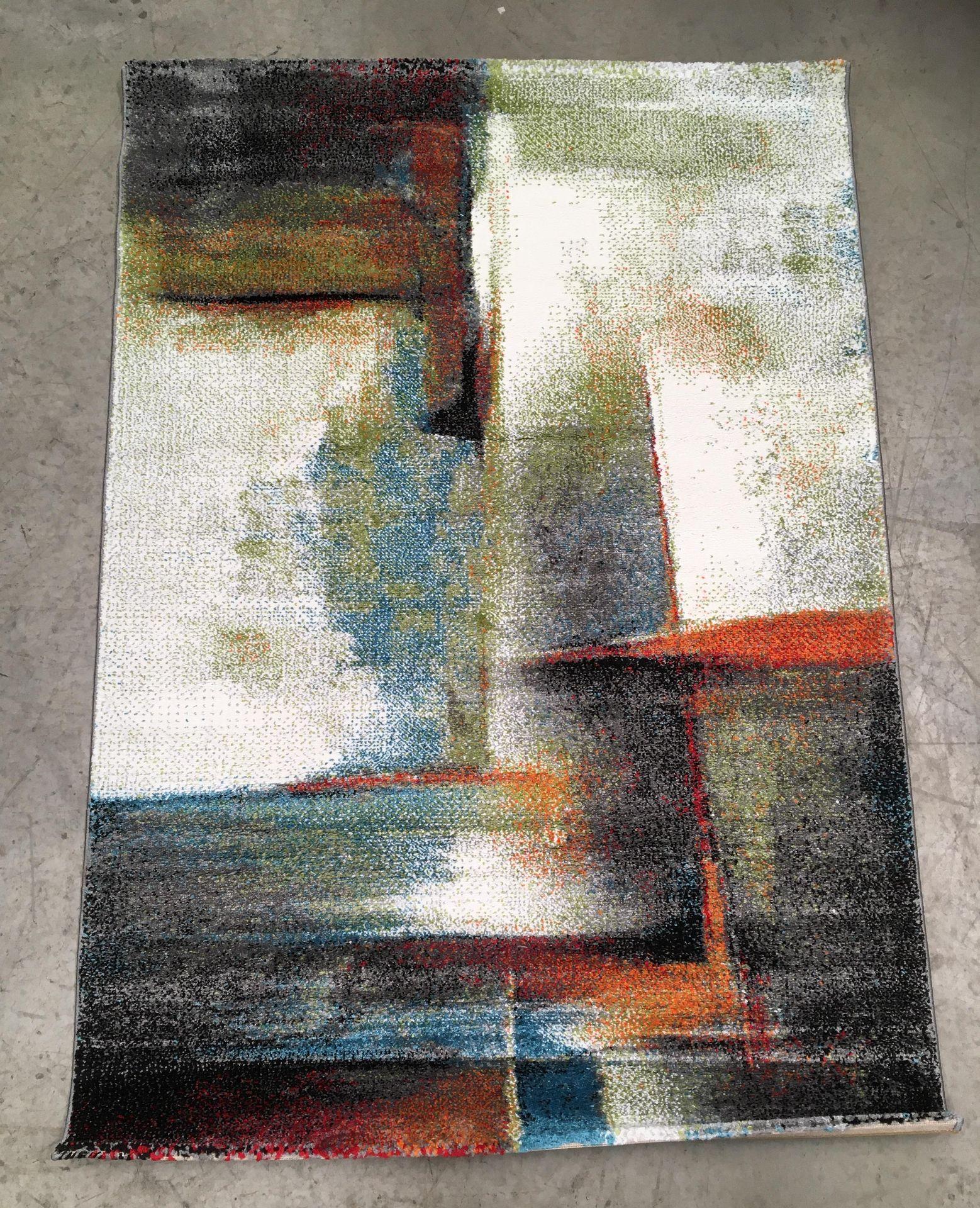 Lot 11 - A Paco Home Brilliance SV 710 multicoloured rug - 120cm x 170cm