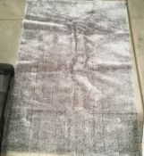 A Paco Home Touch 100 grey rug - 240cm x 340cm