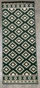 A Hanse Home 62944 green rug - 80cm x 200cm