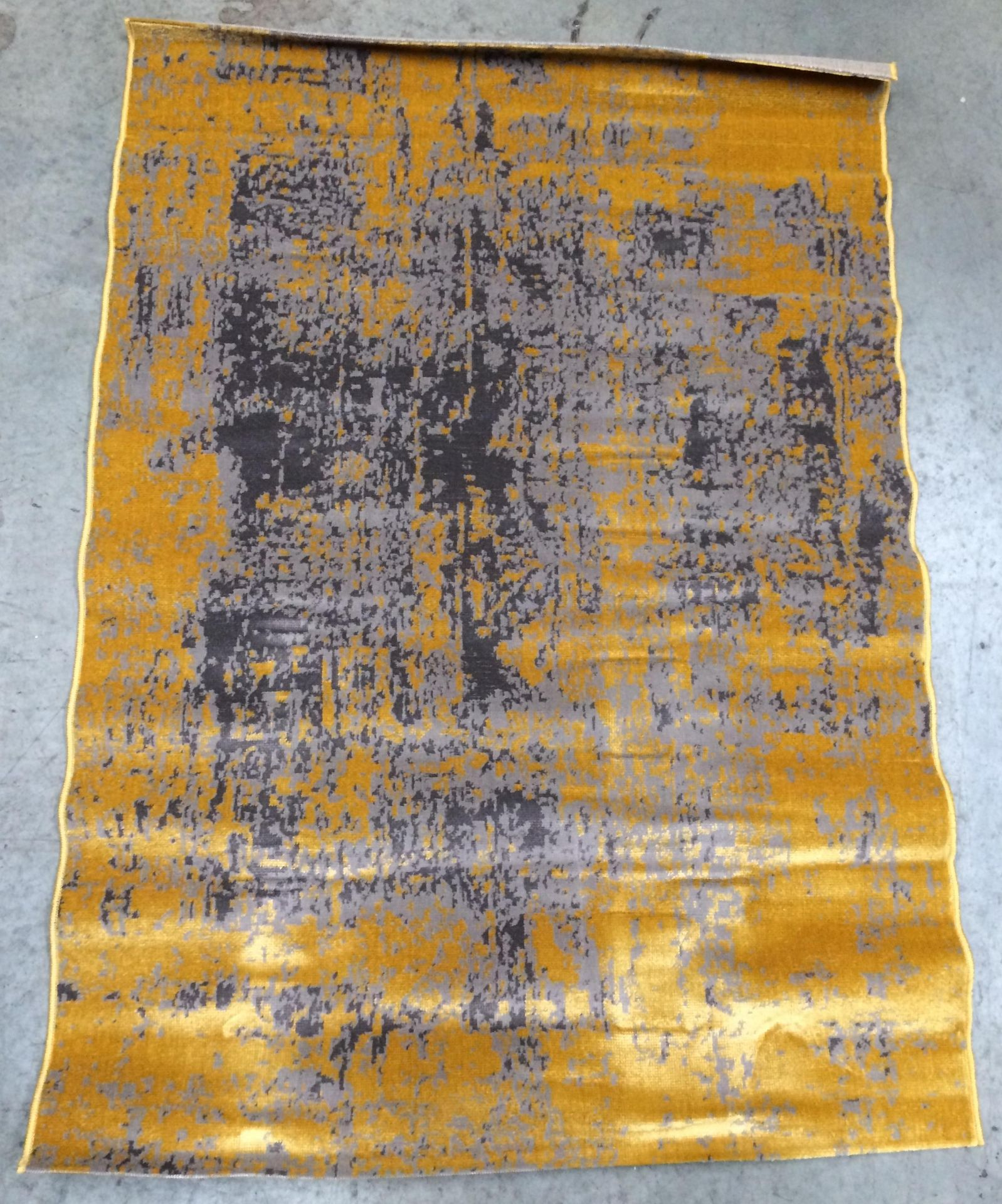 Lot 28 - A Easy Living Revive RE11 yellow/grey rug - 120cm x 170cm