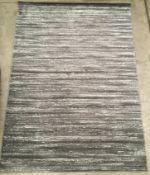 A Paco Home ECE 900 grey rug - 200cm x 280cm