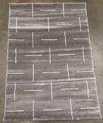 A Paco Home Tibesti 5085 grey rug - 120cm x 170cm