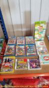 14 NINTENDO GAMES – 6 X MIXED WII U SEALED MARIO GAMES, 1 X SEALED WII MARIO & SONIC LONDON 2012,