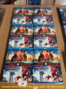 6 X SPIDERMAN 2 MOVIE COLLECTION BLU-RAY (ALL SEALED / AS NEW)
