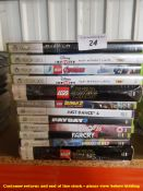 12 X MIXED XBOX 360 GAMES (ALL SEALED / AS NEW) TO INC DIABLO, FAR CRY 4, PAYDAY 2,