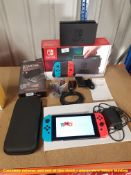 NINTENDO SWITCH – (FACTORY RESET PERFORMED,