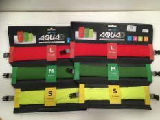 2 x Aquad three waterproof packing cubes - 12L, 7L,