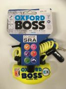 Withdrawn - Late ROT claim Oxford Boss Ultra Strong disc lock 14mm RRP £59.