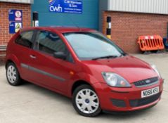 FORD FIESTA 1.6 STYLE automatic 3 door hatchback - Petrol - Red