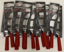 14 x Richardson Sheffield Colour pizza knives - RRP £5.