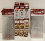 18 x assorted Cake Boss items - silicone baking prep mats,