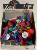 22 x Zeal perfect measuring spoon sets - RRP £11.