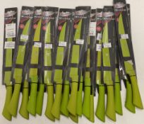 18 x Richardson Sheffield Colour carving knives - RRP £9 each