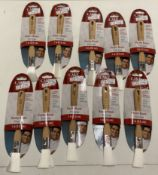 "10 x Cake Boss 1"" pastry brushes"