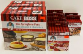 10 x items - assorted Cake Boss items - decorating tips, fondant/cookie cutter,
