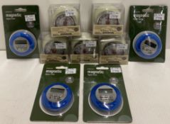 9 x assorted kitchen timers - RRP £8.99-£14.