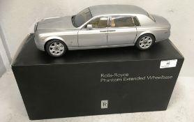 Kyosho 1/18 scale die cast metal model of Rolls Royce Phantom Extended Wheelbase (boxed)