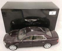 Kryosho 1/18 scale die cast metal model of Bentley Flying Spur W12 (boxed) Further