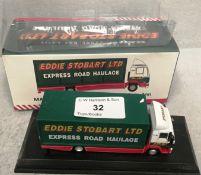 1/76 scale die cast model of Eddie Stobart Man L2000 box lorry 'Valerie Ann' F1459 (boxed)