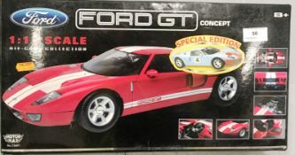 Motor Max 1/12 scale die cast metal model of Ford GT Concept (boxed)