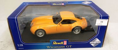 Revell 1/18 scale die cast metal model of Wiesmann GT (boxed)