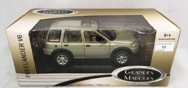 Grandes marques 1/18 scale die cast metal model of Freelander V6 (boxed)