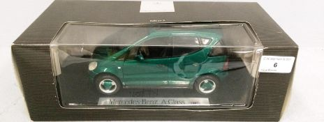 Mercedes-Benz Edition A 1/18 scale die cast metal model of Mercedes-Benz A Class (1997) (boxed)
