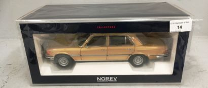 Norev Collectors 1/18 scale die cast metal model of Mercedes-Benz 450 SEL 6.