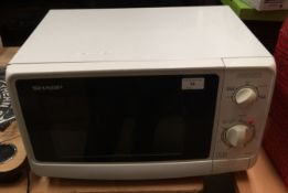 Sharp R-209 microwave oven