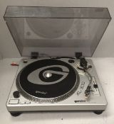 Gemini GT4200359 XL-300 fully manual direct drive turntable