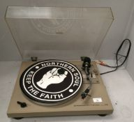 Pioneer PL-512 stereo turntable with SoundLab stylus (no lead),