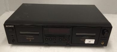 Sony TC-WE475 stereo cassette deck