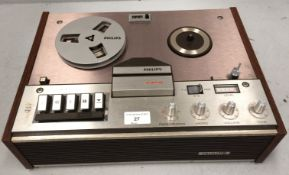 Philips 4308 reel to reel player - no lead