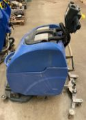A Numatic 240v floor polisher/cleaner