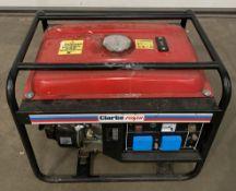 A Clarke Power FG3005 7HP petrol generator