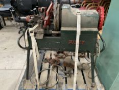 A Neville Scales & Co Ltd Piset 4S-B industrial foot operated pipe threading machine, serial no.