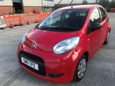 CITROEN C1 VT 1.0 5 DOOR HATCHBACK - petrol - red Reg No SM11 TPZ Rec Mil 115,608+ 1st Reg 23.06.
