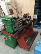 A Harrison M300 lathe S/N 304747 - 3 phase complete with tooling *** Please note: The latest