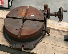 "A 12"" rotary table *** Please note: The latest collection for this lot is 3:30pm on Wednesday 11th"