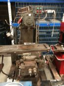 A Clarkson 3HP CHV2 Milling machine - 3 phase complete with Meister Top Ten digital readout and