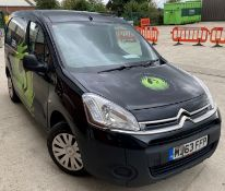 FROM A LIQUIDATION AND SOLD ON BEHALF OF A FINANCE COMPANY CITROEN BERLINGO ENTERPRISE PANEL VAN -