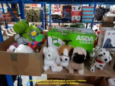 A QTY OF KIDS TOYS TO INC 1 X ASDA LORRY,