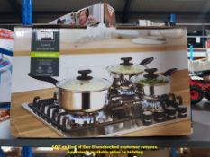 1 X GH 3 PIECE SAUCEPAN SET