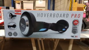 1 X RED 5 HOVERBOARD PRO (MAX SPEED 9KM PER HOUR, RANGE UP TO 5.