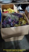 CONTENTS OF BOX – VERY LARGE QUANTITY OF MIXED CHRISTMAS TINSEL