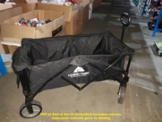 1 X OZARK TRAIL FOLDABLE TROLLY (RRP £50