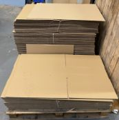 Contents to pallet - flat pack cardboard