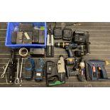 6 x assorted electric hand tools, assort