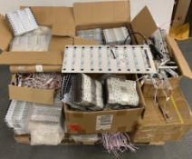 Contents to pallet - large quantity of V