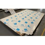 Contents to pallet - 3 sheets of Arkema